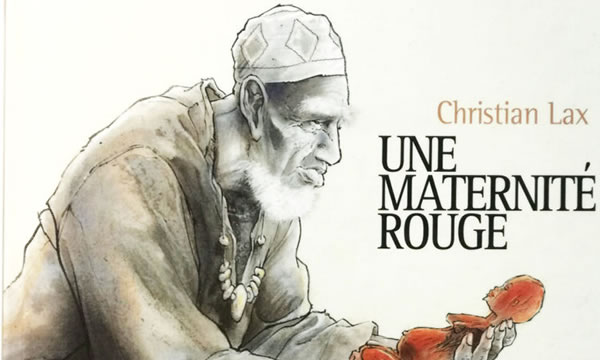 Une maternité rouge, par Christian Lax